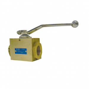 Ball Valve with Female Thread - for Oxygen, PN 40